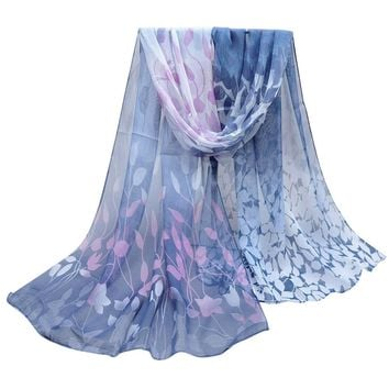 New Brand 2017 Scarf Flower Rose Printed Scarves Good Quality Chiffon Polyester Scarves Hot Sell Beach Silk Scarf Shawls Scarves