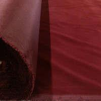 Solid Burgundy (Wine Color) Flocked Cotton Velvet Fabric for Upholstery Crafts Curtain Drapery Material Sale - Sold Per Yard 60 inch Wide