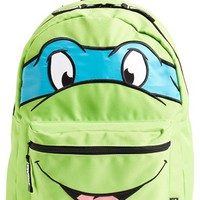 Boy's TMNT Reversible Ninja Turtle Backpack - Green