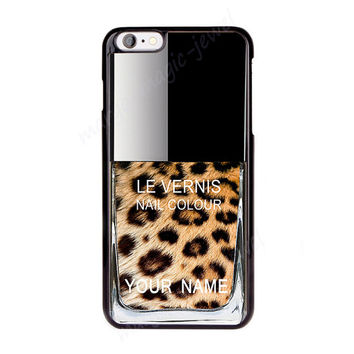 Cover,Case for iPhone,iPod,Samsung,Sony,  Nail Polish, Girly Make Up, Personalized covers, Leopard pattern