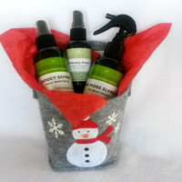 Holiday Gift for Pet Lover.  Holiday Gift for Dog. Pet Gift. Dog Gift.  Organic Natural Pet Care.