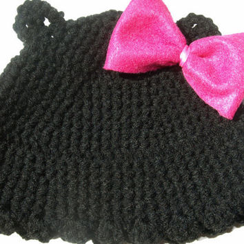 black bear hat for child