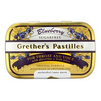 Grether's Pastilles For Throat and Voice - Blueberry - Sugar Free