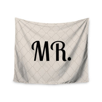 "KESS Original ""MR"" Wall Tapestry"
