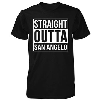 Straight Outta San Angelo City. Cool Gift - Unisex Tshirt