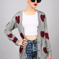 Love Struck Cardigan | Distressed Cardigans at Pink Ice