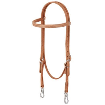 Weaver Leather Western Headstall ProTack® Browband Trainer Headstall 10-0076
