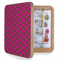 Caroline Okun Chocolate Chevron BlingBox
