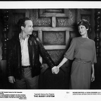 Vintage 1983 Richard Dreyfuss The Buddy System 8x10 Black and White Promotional Photograph