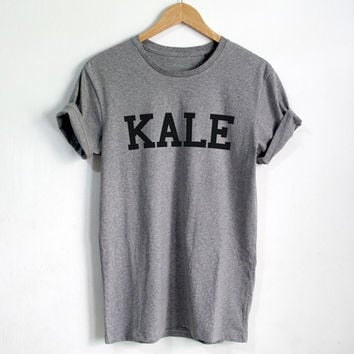 KALE T shirt Funny Quote T-shirt Fashion shirt Hipster Unisex tshirt tumblr Pinterest