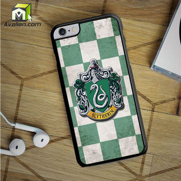 Slytherin Crest iPhone 6S Plus case by Avallen