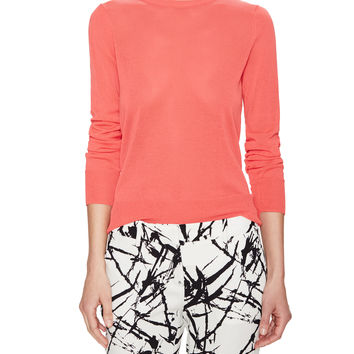 ALC Women's Agnes Back Cutout Sweater - Red -