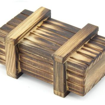 10PCS/LOT Classic Wooden Magic Box Puzzle Game Toy for Young and Old