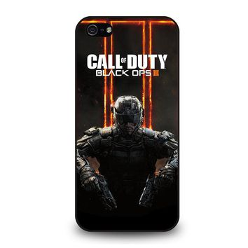 CALL OF DUTY BLACK OPS 3 iPhone 5 / 5S / SE Case Cover