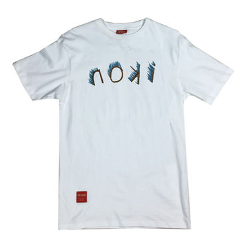 ikon Backwards Smear Tee (white)