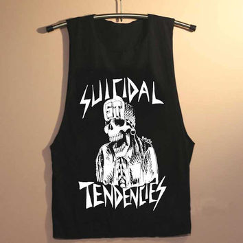 suicidal tendencies yuppy shop for Tank top Mens and Girls available S - XXL customized