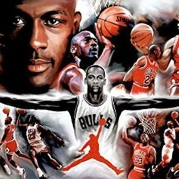 CREYUG7 MICHAEL JORDAN POSTER Amazing Collage RARE HOT NEW 24x36