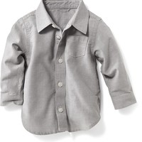Old Navy Oxford Button Front Shirts For Baby