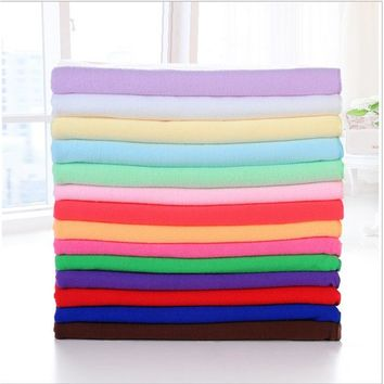 1pc 13 Colors Optional Supersoft Microfiber Beach Towel Bath Towel Sports Gym Towel Fast Drying Cloth Extra Large 140x70cm