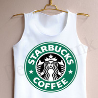 Starbucks Coffee - Tank Top , Tank , Cute Tank Top , Starbucks Coffee Tank Top , Starbucks Tank Top , Starbucks Coffee