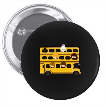 Harry Potter Schoolbus Pin-back button