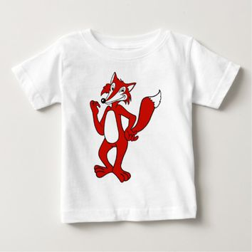 Red Fox Baby T-Shirt