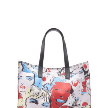 B.Y.O.T. Scream Queen N/S Leather Tote Bag - Marc Jacobs