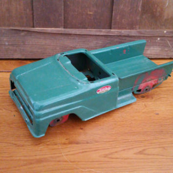 Vintage Green Pressed Steel Tonka Toy Truck Body Mound Minn