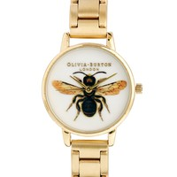 Olivia Burton Gold Bee Bracelet at asos.com