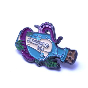 The 2018 Official Imagine 'Message in a Bottle' Pin