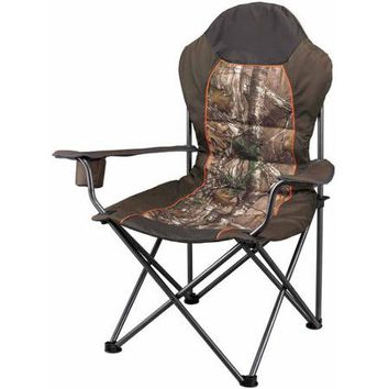 Ozark Trail x Realtree Xtra Deluxe High Back Padded Quad Folding Camp Chair - Walmart.com