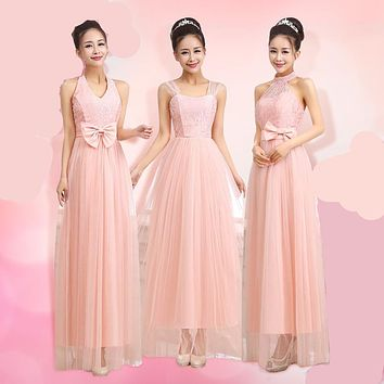 Sweet Pink Dress Long Bridesmaid Dresses Cheap Under 50 Blush Bridesmaid Dresses For Spring Summer Wedding Ideas Party Dresses