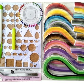 Quilling Kits With 5mm Quilling Paper 900 Strips,Quilling  tool set
