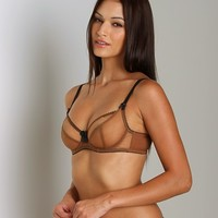 Claudette Dessous Full Coverage Bra American Tan CD2000  at Largo Drive Underwear & Swimwear
