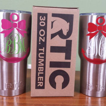 RTIC Tumblers with Personalization