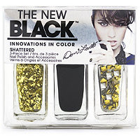 Nail Polish The New Black Demi Lovato 3 Pc Nail Set Heart Attack To Shattered Ulta.com - Cosmetics, Fragrance, Salon and Beauty Gifts