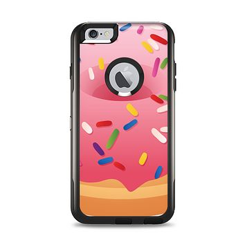 The Sprinkled 3d Donut Apple iPhone 6 Plus Otterbox Commuter Case Skin Set