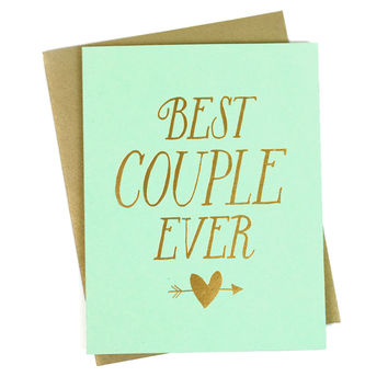 Best Couple Card