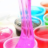 12Pcs Putty Crystal Slime Jelly Mud Slime Ramen Squishy Pressure Release Toys Children Educational Toys