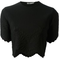 Alexander Mcqueen Cropped Top