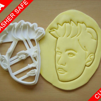 Custom Portrait Cookie Cutter Christmas Gift Face Couples Graduation Stamp Photo Couple Photograph Fondant Birthday Party Favor Anniversary