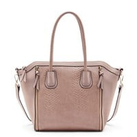 Sole Society Kadin Structured Vegan Satchel