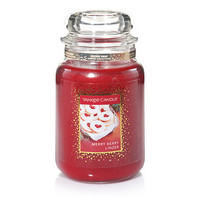 Cookie Swap Merry Berry Linzer : Large Jar Candles : Yankee Candle