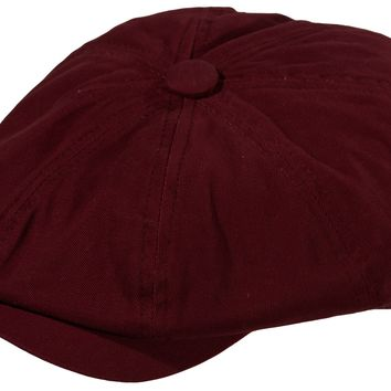 Mo' Money Cotton Newsboy Cap by Broner