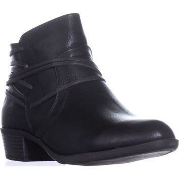 madden girl Become Casual Ankle Boots, Black Paris, 6 US