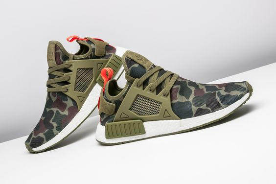 ea60e7ae7 Adidas NMD XR1 Duck Camo Camouflage Women Fashion Trending Running Sports  Shoes