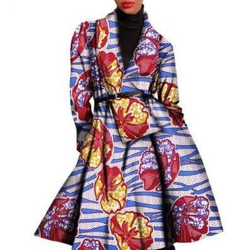 Robe Africaine - African Print Dress New Style Women Clothing