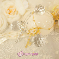Sailor Moon Crystal Temporal Key Bracelet Necklace SP152376