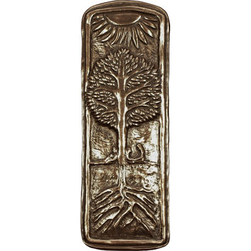 Bronze Family Tree Wall Plaque