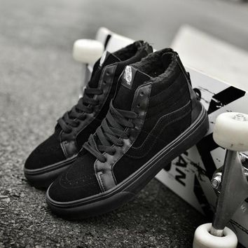 Vans Sk8-Hi Zip Classic Old Skool Flats Sneakers Sport Shoes